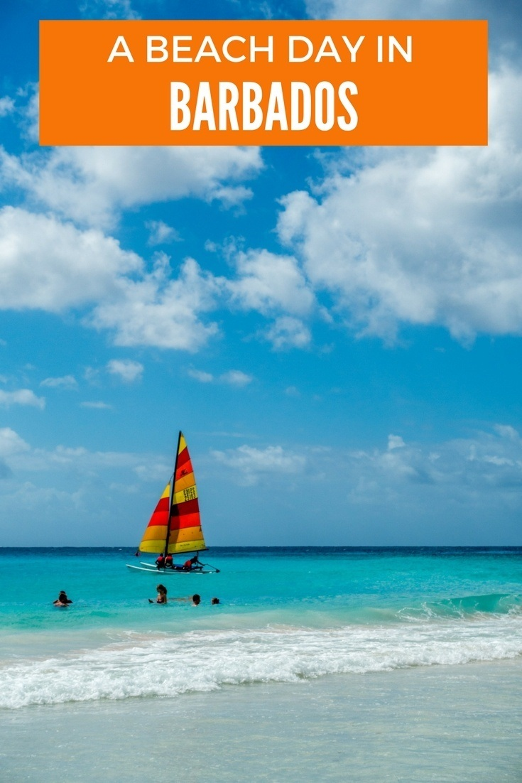 Rockley Beach in Barbados is the perfect place to get away from the crowds for the day. Dip in the ocean, enjoy the sand, and relax.