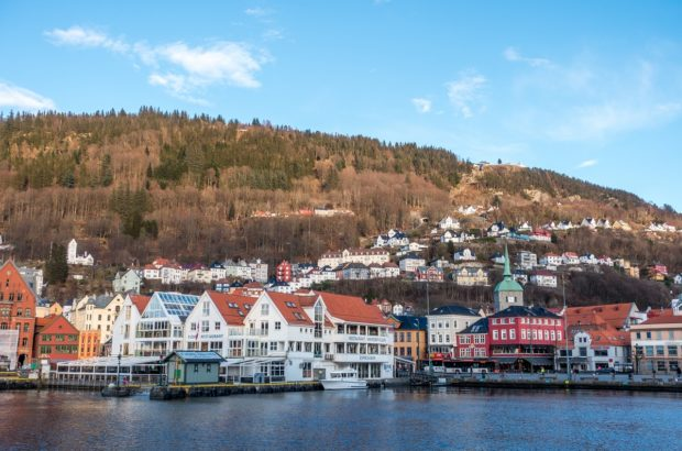 Strolling around the cute harbor is one of the best things to do in Bergen Norway