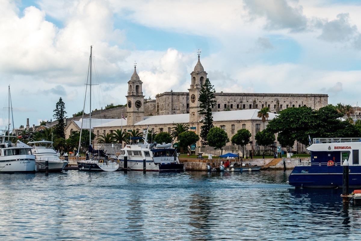 Port of King's Wharf Bermuda