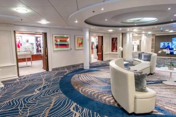 Many ships have boutique shops.  One of our top cruise travel tips and tricks is to save your shopping until the end of the cruise when the ship runs sales.