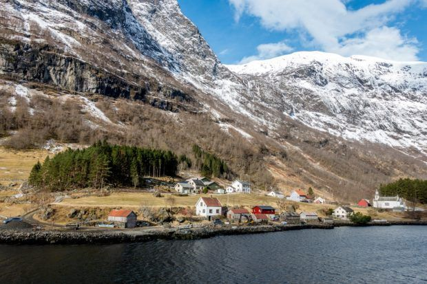 A fjord cruise is one of the best things to do in Norway, especially in the winter.