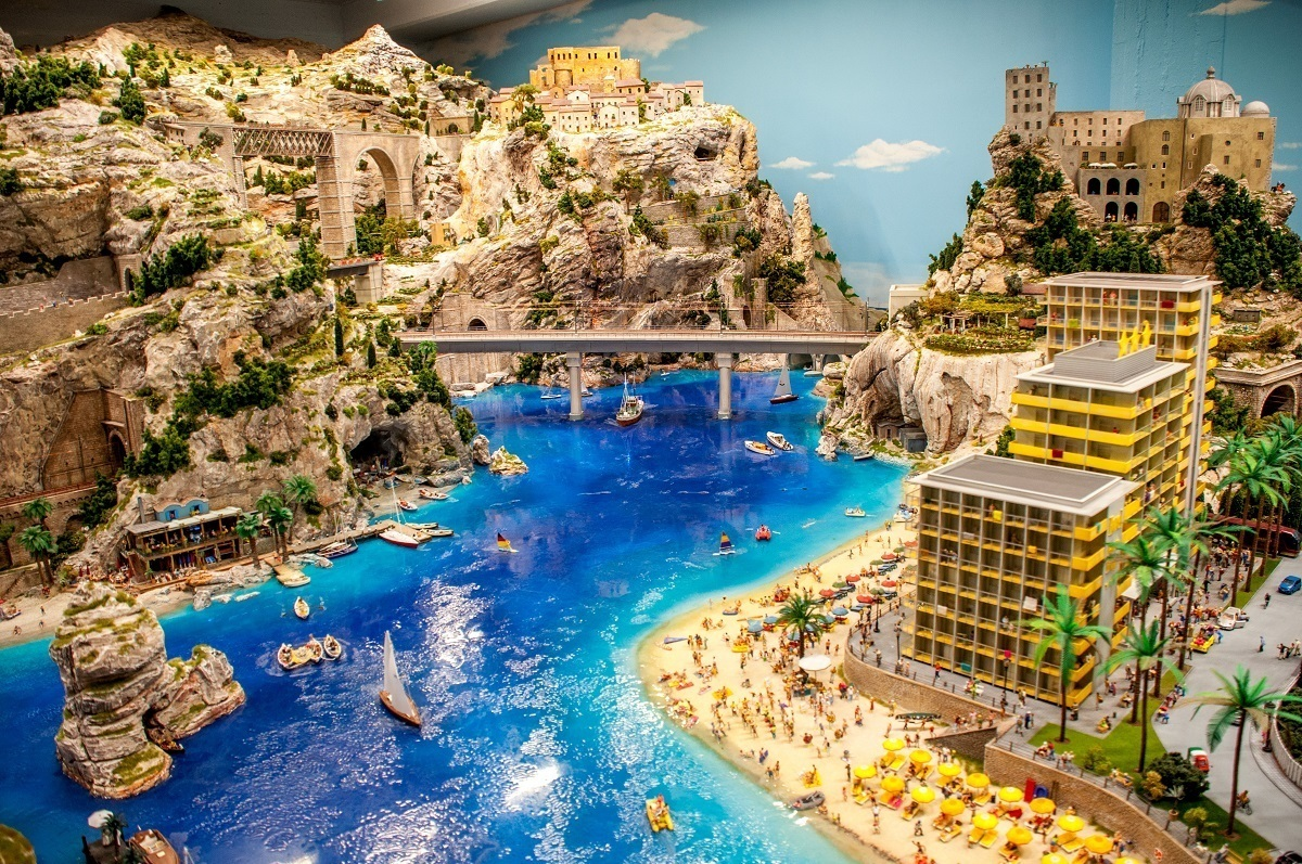 Miniature Wonderland in Hamburg is more than a model railroad exhibit for kids. It is the fanciful recreation of our world down to the smallest detail.