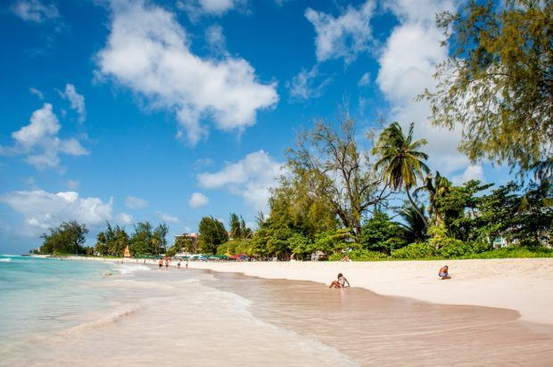 Rockley beach in Barbados is a small slice of Bajan heaven