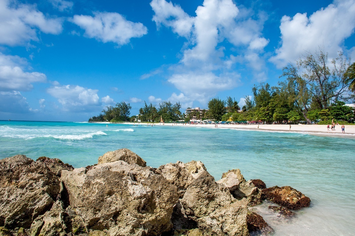 Rockley Beach in Barbados