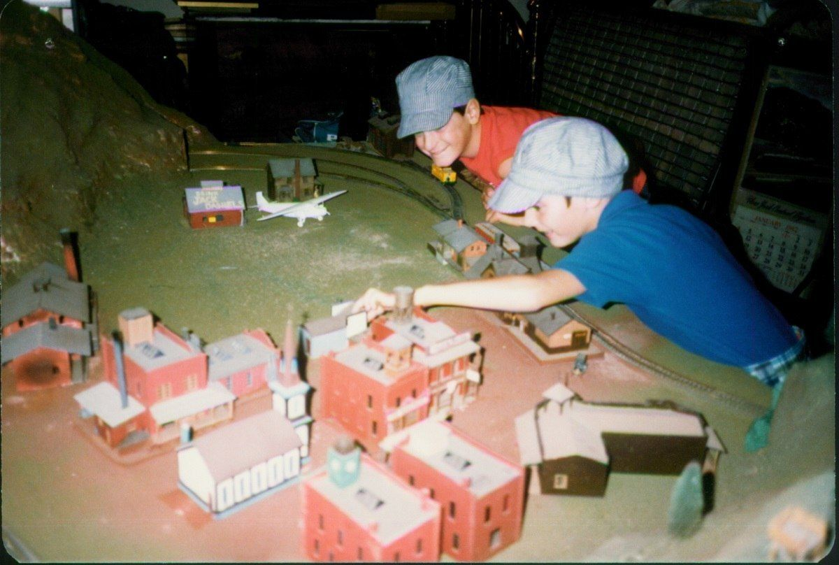 During the summer of 1984, I spent nearly every day working on my model train in the basement of my parents house.