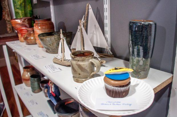 Cupcakes in an art gallery? You never know what's possible on an Eating St. Michaels food tour