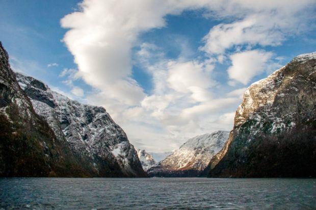 Bergen fjord sightseeing in Norway