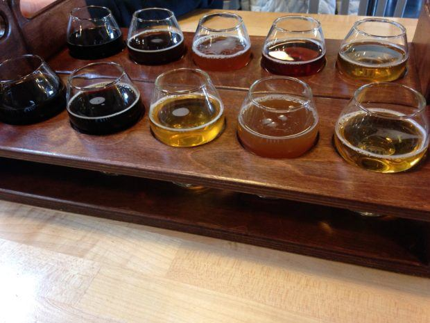 Exploring the Orange County craft beer scene at The Bruery. Visiting one of the many micro-breweries is one of our favorite things to do in Orange County.