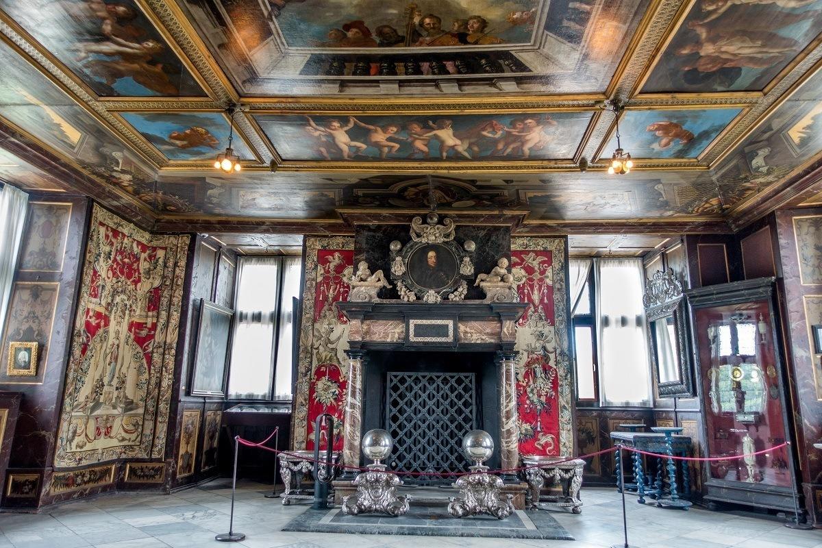 Christian V's Hall at Rosenborg Castle, Copenhagen