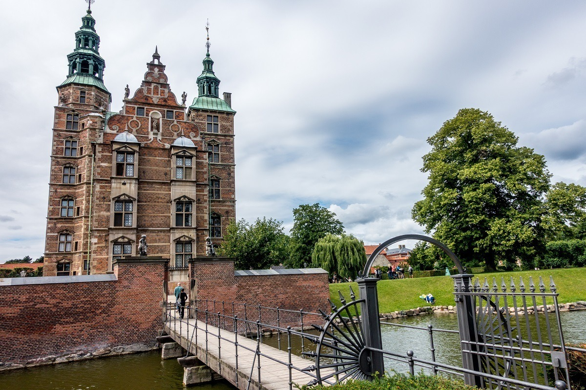 Rosenborg Castle in Copenhagen, Denmark, is a 17th c. Renaissance castle built by Christian IV