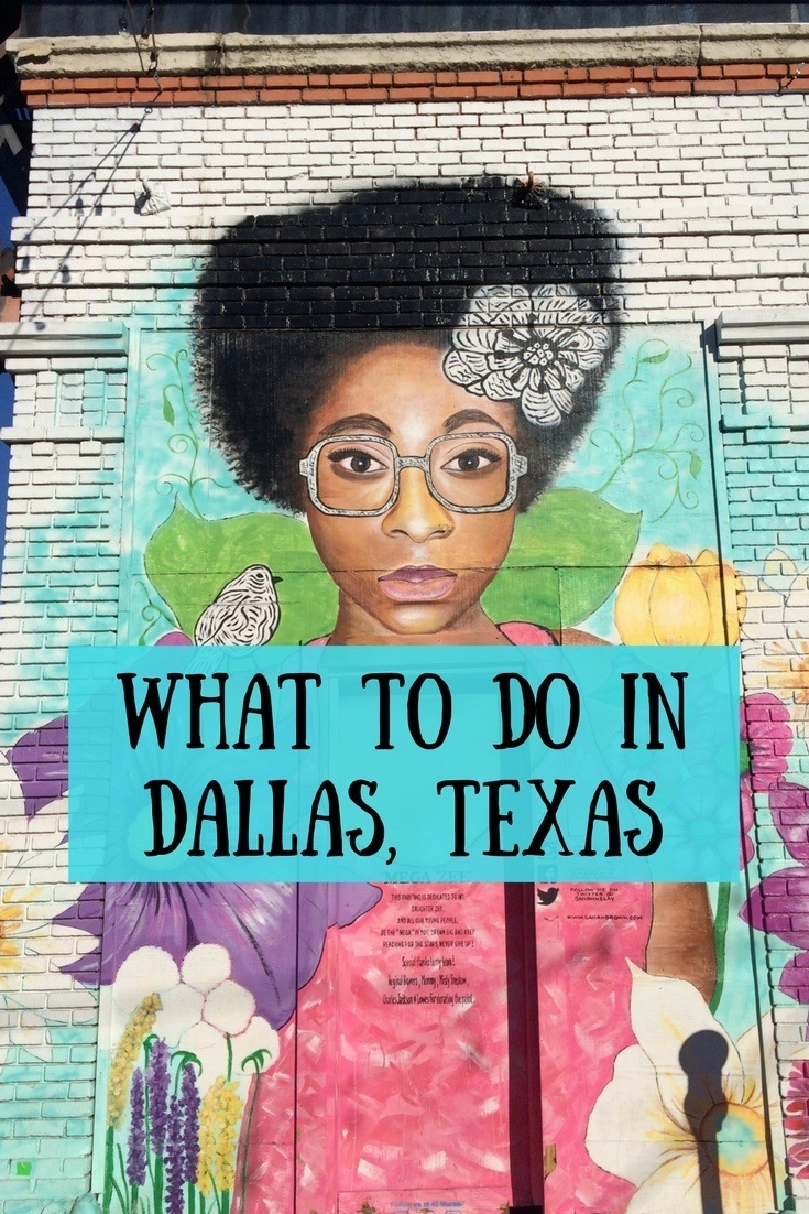 From seeing street art to shopping and visiting craft breweries, there are lots of fun things to do in Dallas, Texas. #dallas #texas #usa