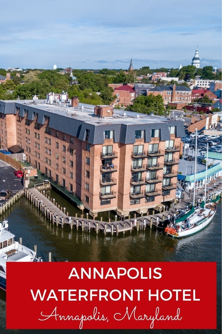 In Maryland's capital, there is no better hotel than the Annapolis Waterfront Hotel, with its prime location on the water.
