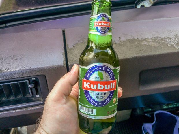 Caribbean beer 101:  Kubuli is the national beer of Dominica.
