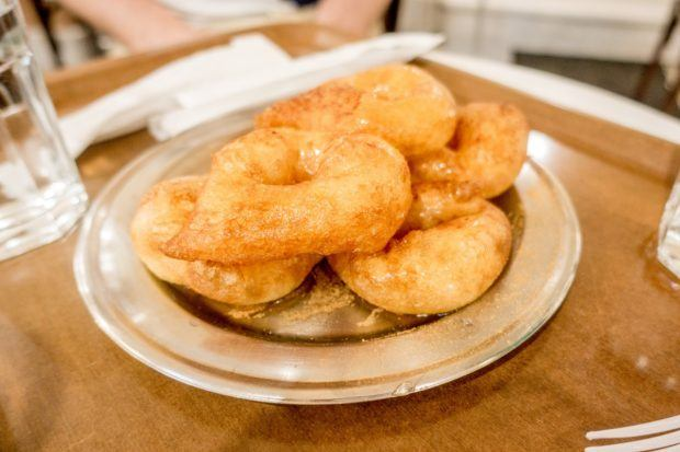 Loukoumades--similar to donuts--are a popular food in Greece