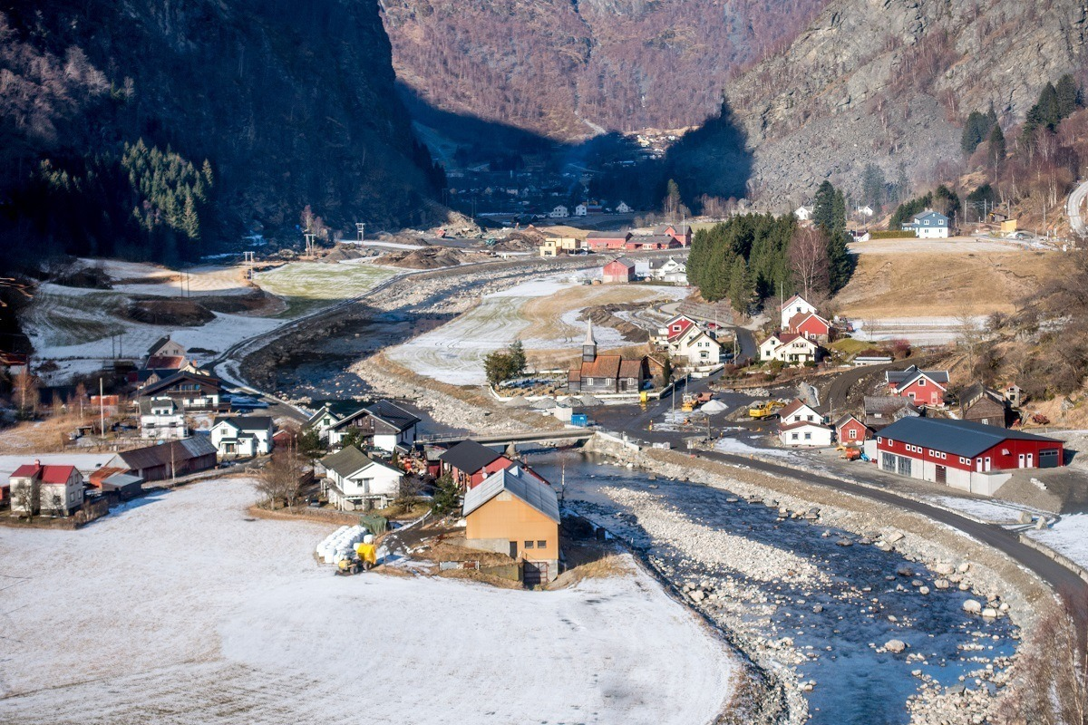 Taking the Flam Railway provides amazing views and is one of the best things to do in Norway