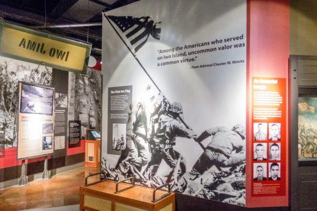 Fredericksburg's National Museum of the Pacific War is full of engaging displays