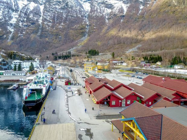 The cute village of Flam is one of the top Norway tourist spots