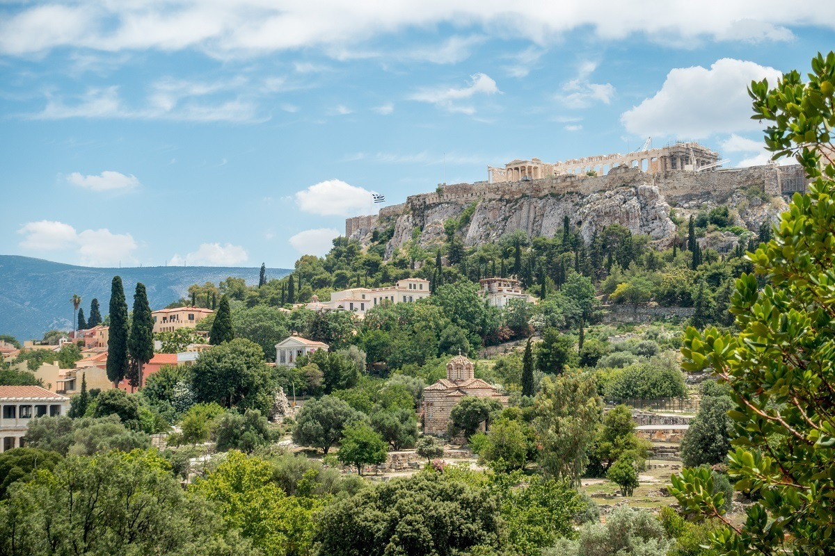 The Acropolis is one of the best things to see in Athens Greece