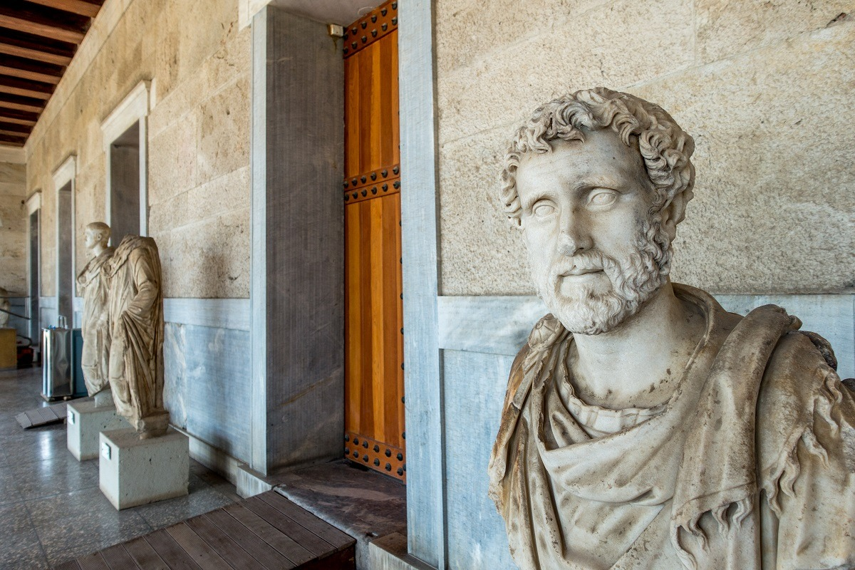 The museum in the Ancient Agora in Athens, Greece
