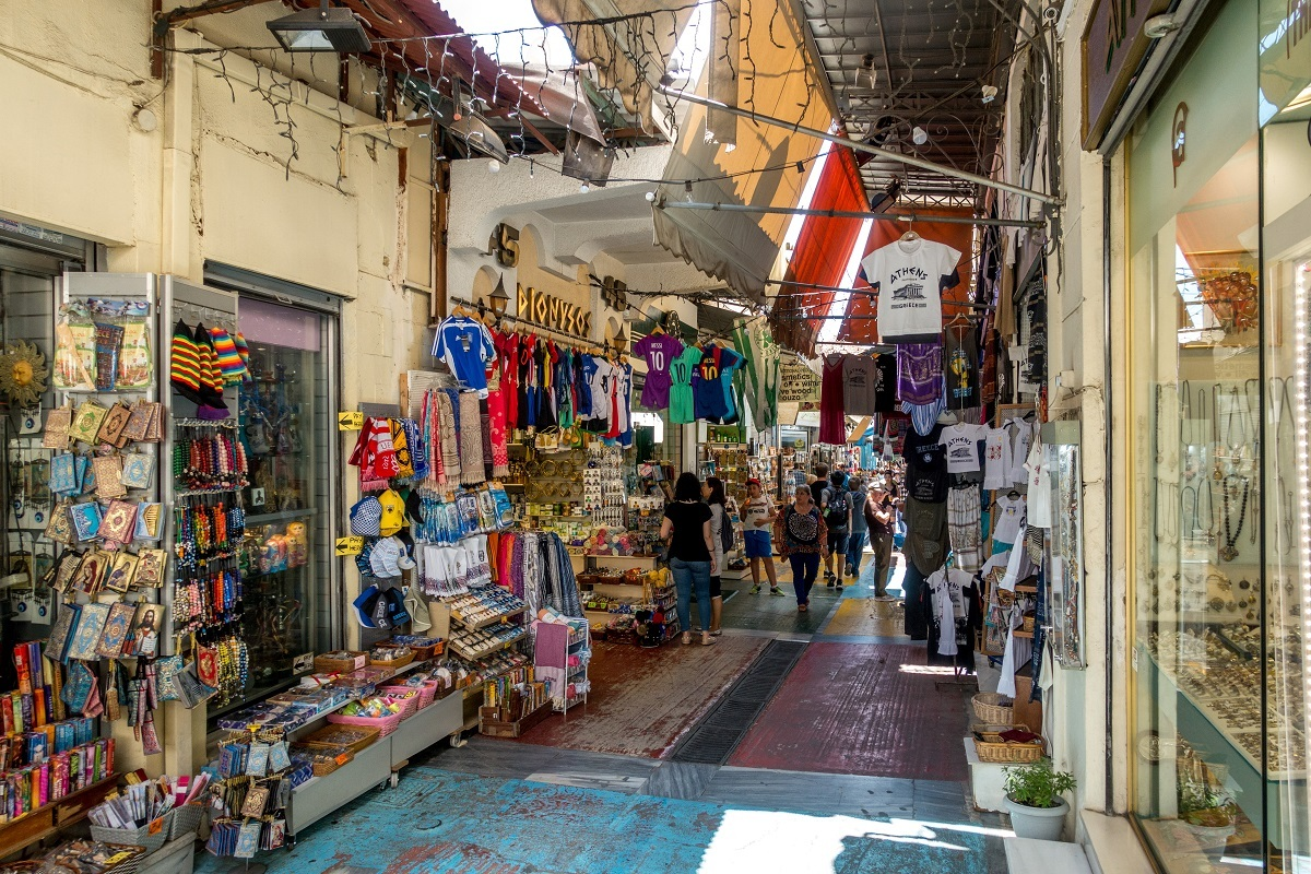 Visiting the Monastiraki neighborhood is a must-do with 3 days in Athens