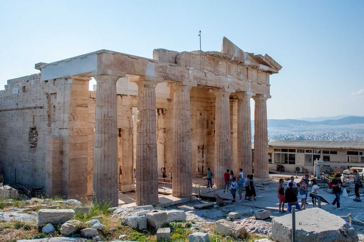 The Parthenon is the number one site to see with 3 days in Athens