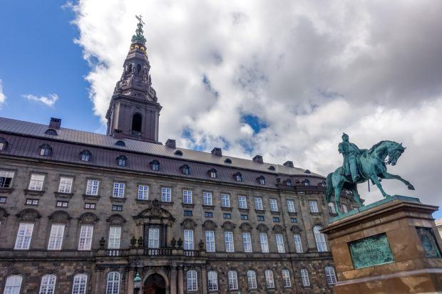 Christiansborg Palace, one of the Copenhagen highlights
