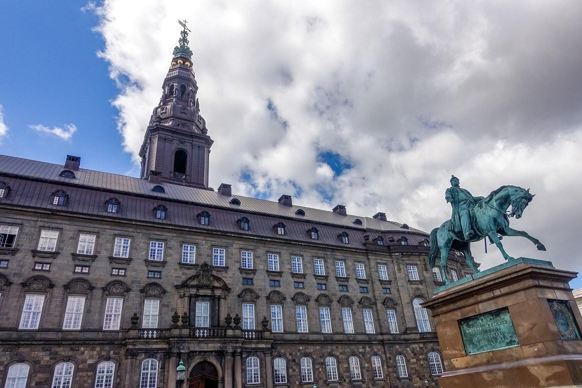 Christiansborg Palace, one of the Copenhagen highlights