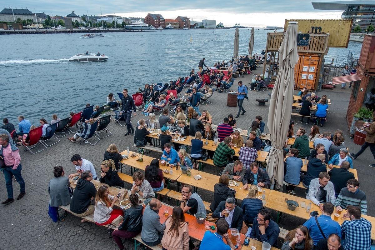 Copenhagen Street Food market is one of the top Copenhagen tourist attractions