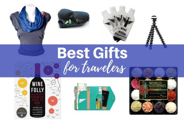 Unique travel gifts for world travelers