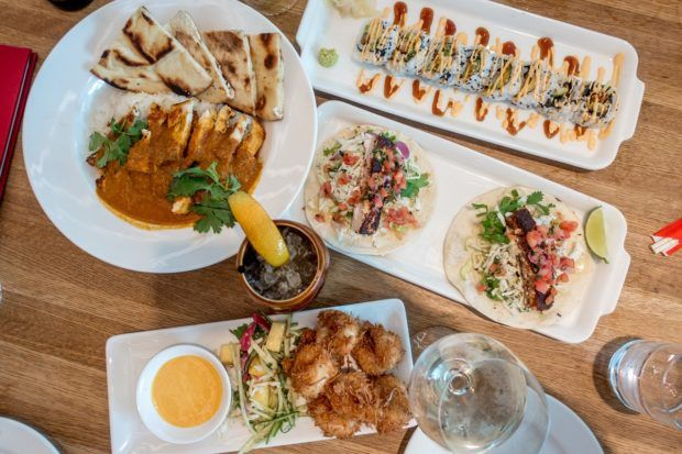 Earls Kitchen + Bar at Tysons Corner offers a wide variety of global cuisine