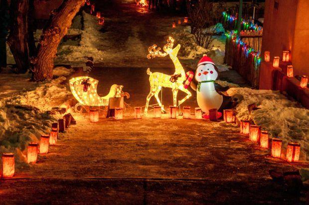 Feliz Navidad - experience a Santa Fe Christmas tradition.