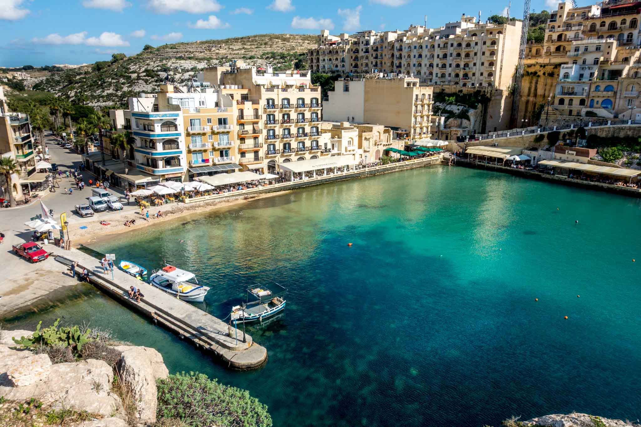 Xlend is a picture-perfect spot for a seafood lunch in Gozo.