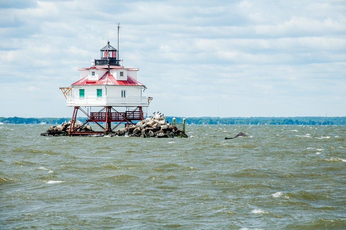 Lighthouse in Chesapeake Bay