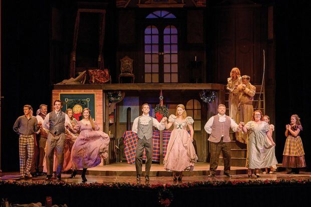 Seeing Dickens' A Christmas Carol is one of the most fun parts of a Gettysburg Christmas