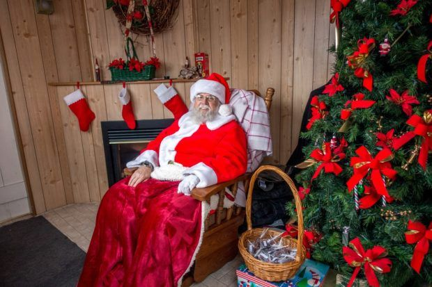 A visit with Santa is a fun part of a Gettysburg Christmas