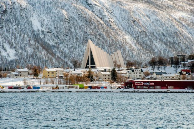 When deciding where to go in Norway, make sure Tromso and its Arctic Cathedral are on the list