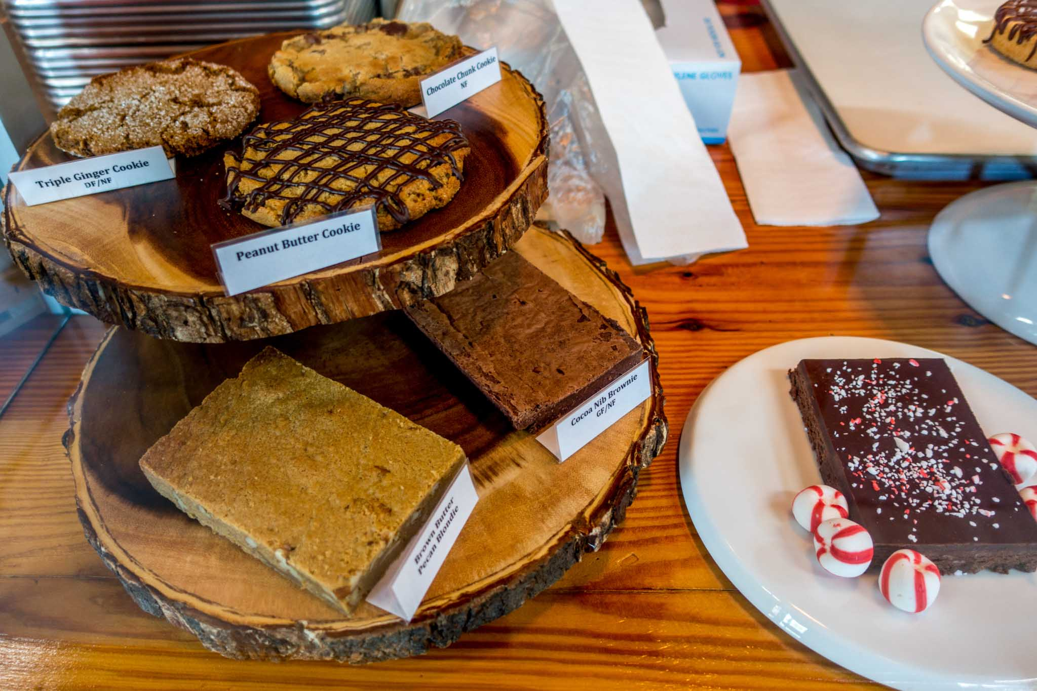 Treats at Black Mountain Chocolate Factory in downtown Winston Salem
