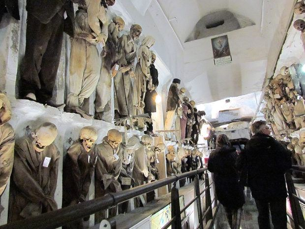 Visiting the Capuchin Catacombs -- what to do in Palermo, Sicily