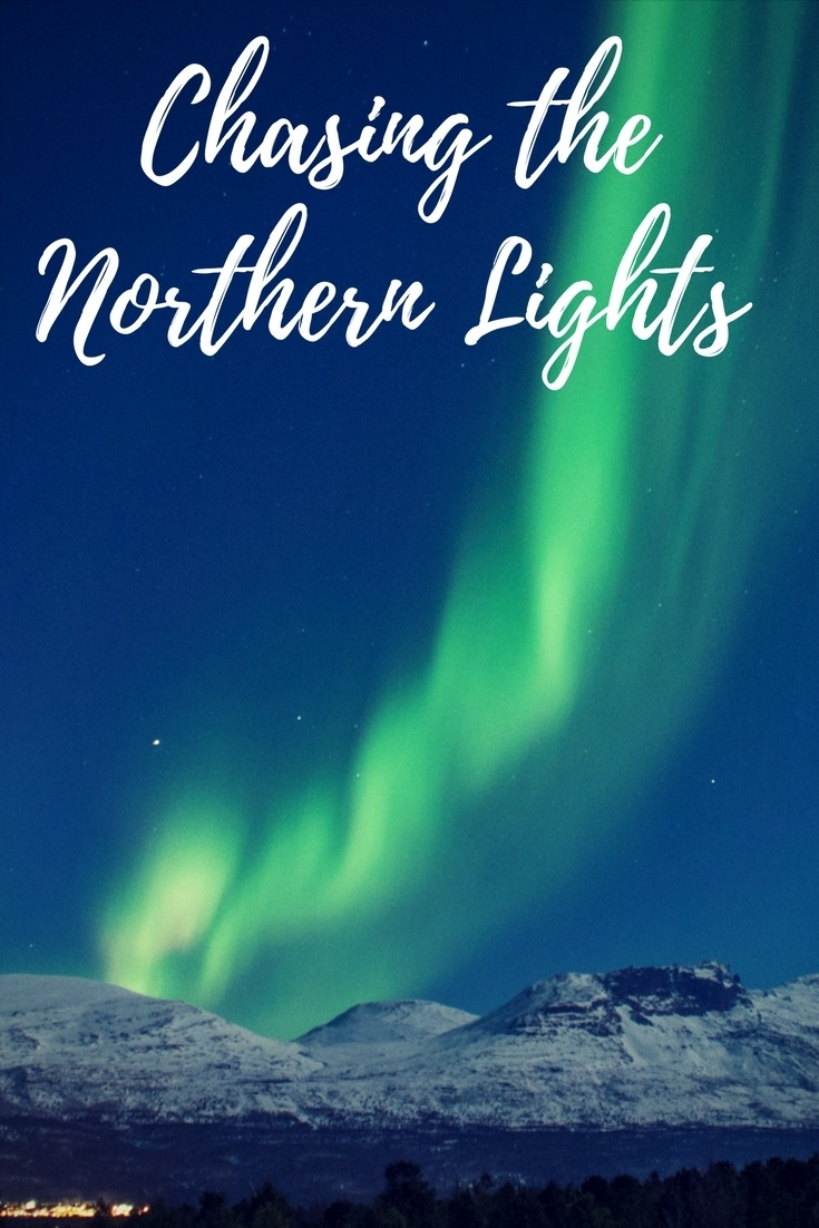 The ultimate guide to chasing the northern lights in Tromso, Norway. Includes how to take pictures of the northern lights, packing tips, and where to stay in Tromso, Norway.