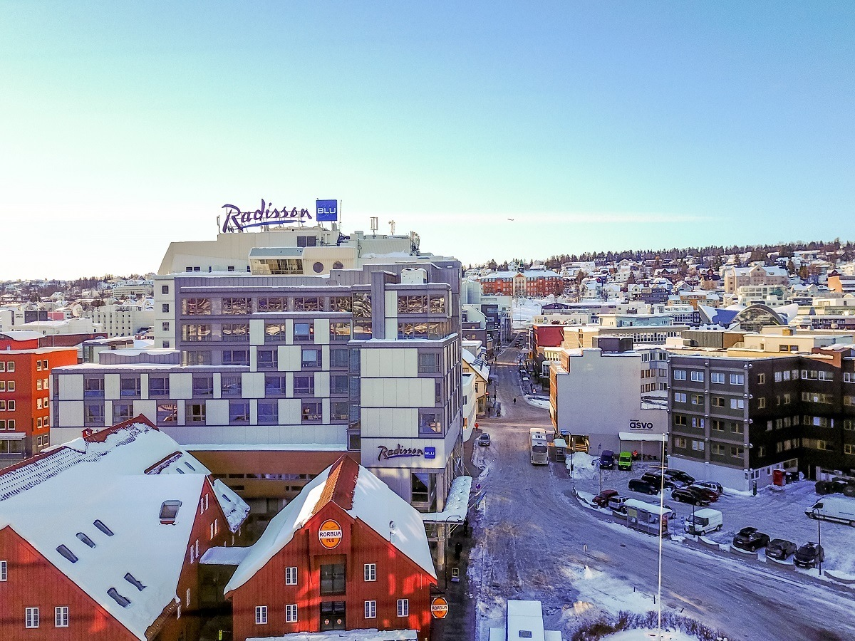 One of the best places to stay in Tromso, Norway is the Radisson Blu, located right on the harbor.