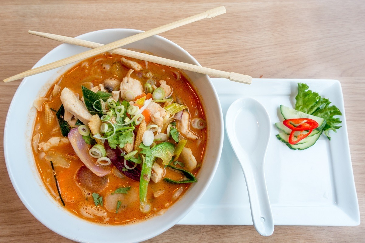 Norwegians love spicy food. When in Tromso, be sure to enjoy Thai food at Suvi.
