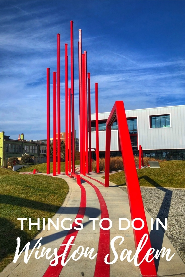 From shopping to street art to living history museums, there are lots of things to do in Winston-Salem, North Carolina.