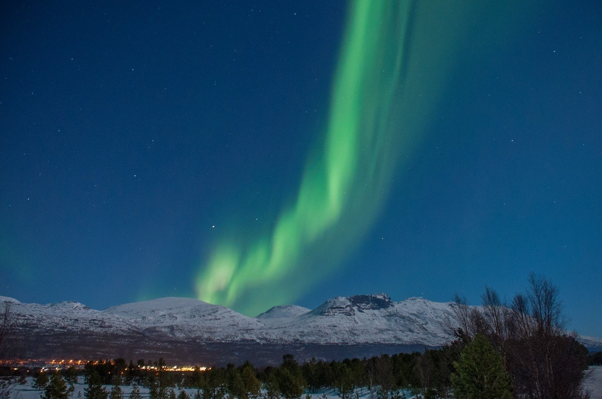 Practice makes perfect!  Work on the camera settings to improve your northern lights photography.
