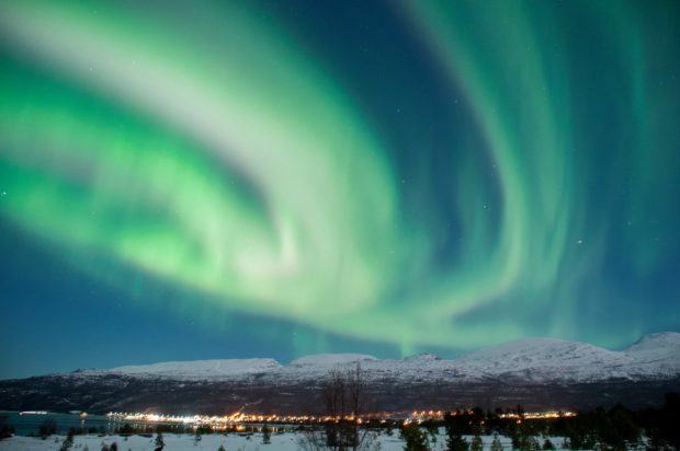 The Northern Lights are a given if you're wondering what to see in Norway in the winter