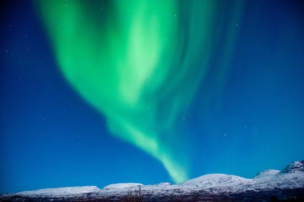 Experiencing the Tromso Northern Lights Norway.