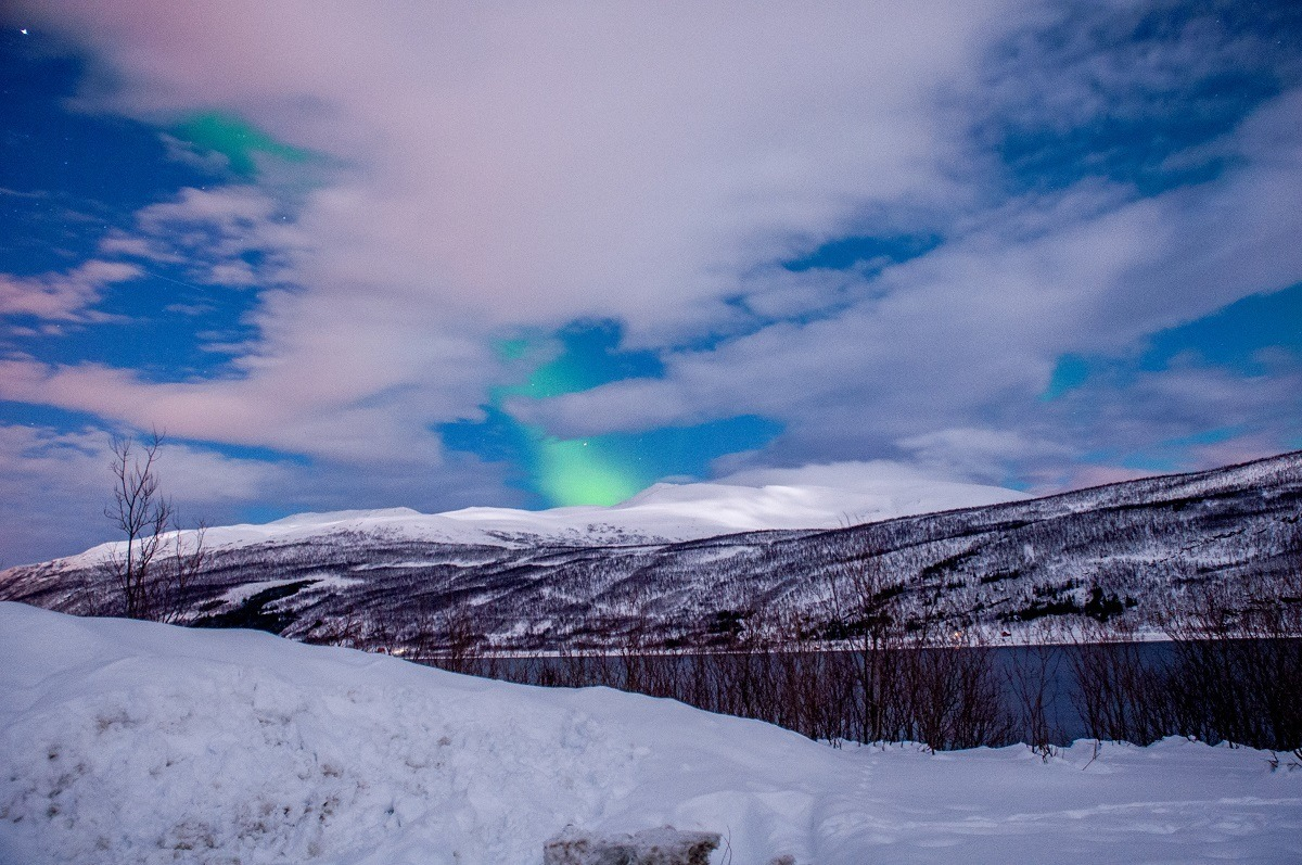 Some nights are so cloudy you can't see the Northern Lights Tromso at all.