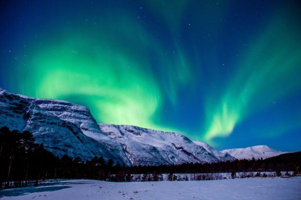 Seeing the Northern Lights is one of the best things to do in Norway in winter