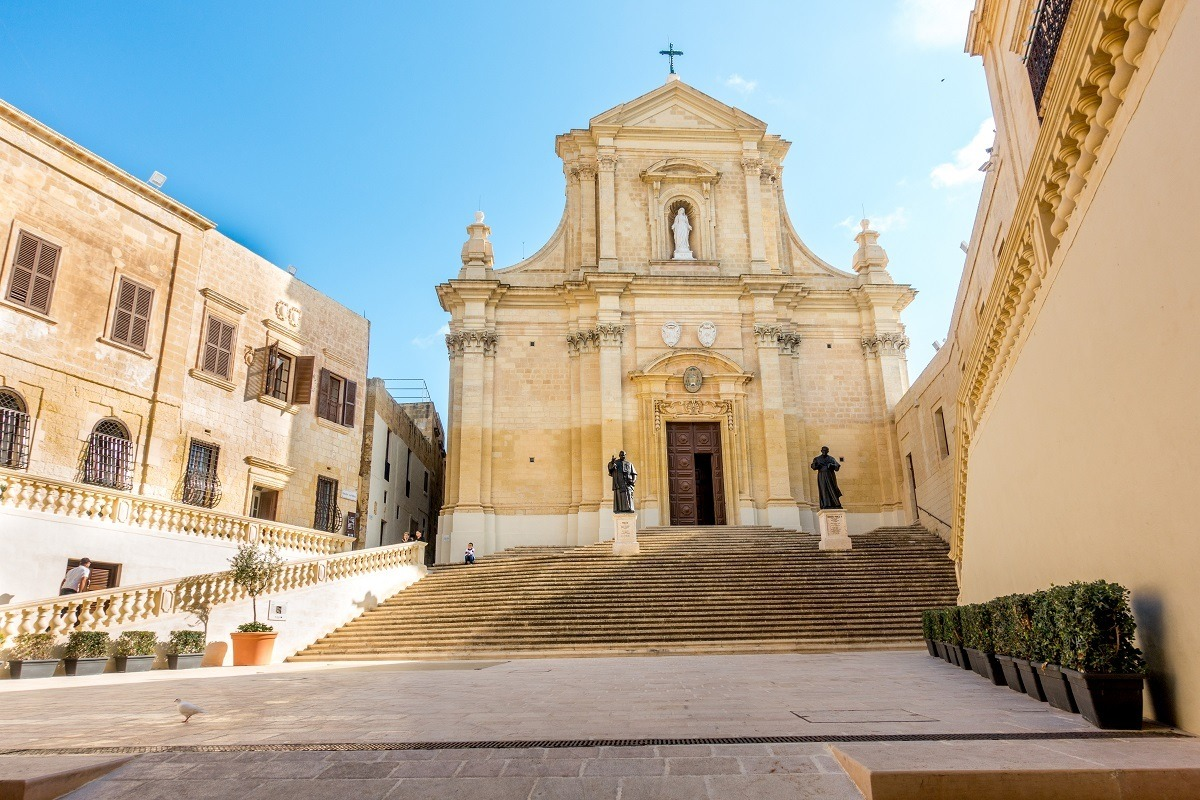 The Citadel is a must see in Gozo