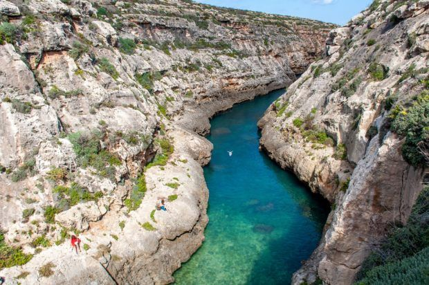 Don't miss Wied il-Ghasri when you visit Gozo