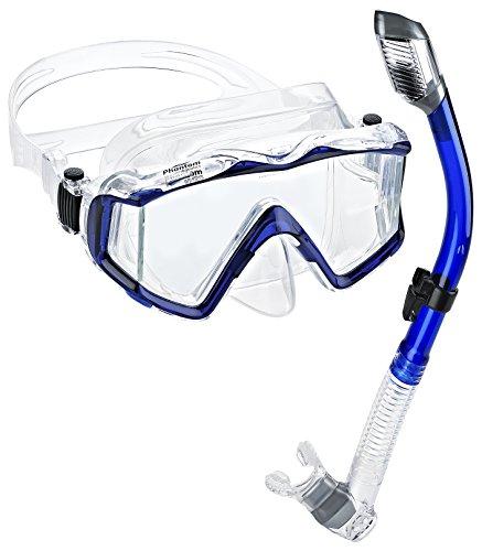 4e8cf41c9fe Phantom Aquatics Panoramic Scuba Set Review. The Phantom Aquatics snorkel  ...